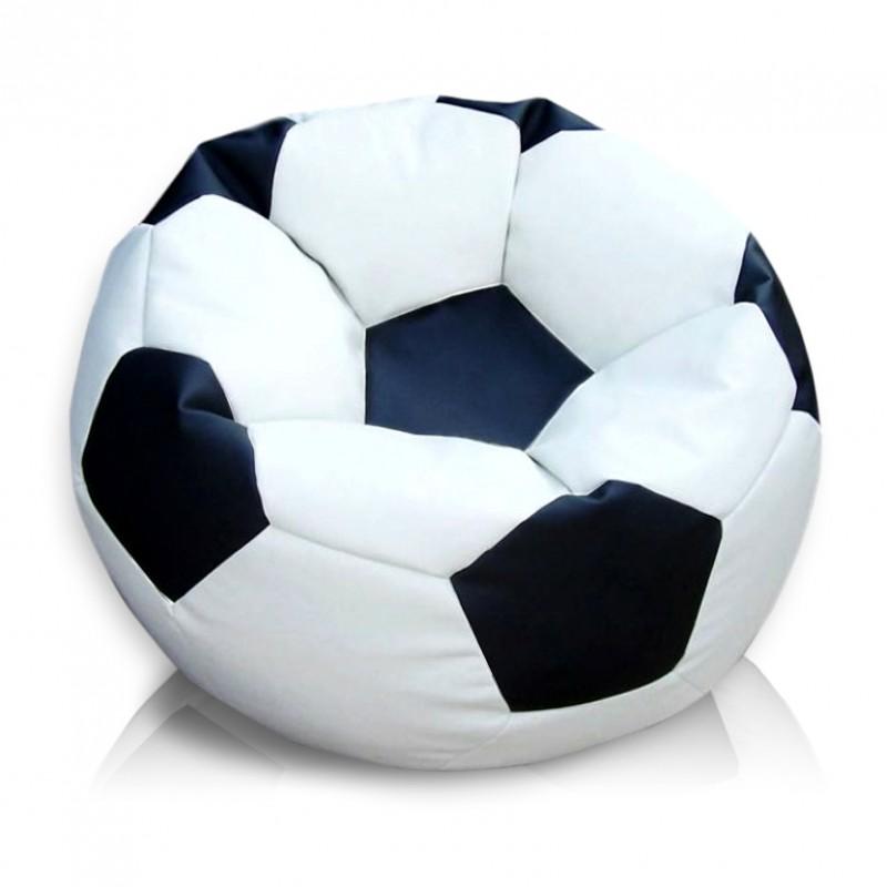 Черно белое кресло мяч