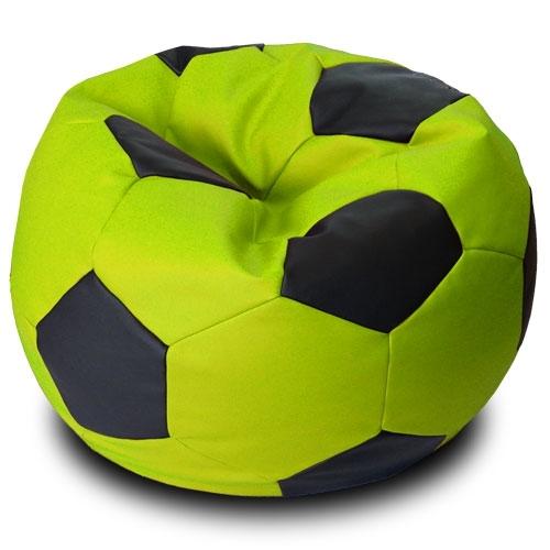Черно зеленое кресло мяч