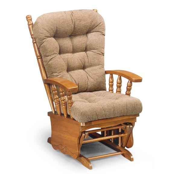 Деревянное кресло глайдер