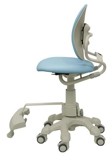 Детское ортопедическое кресло для школьника с подножником, без подлокотников