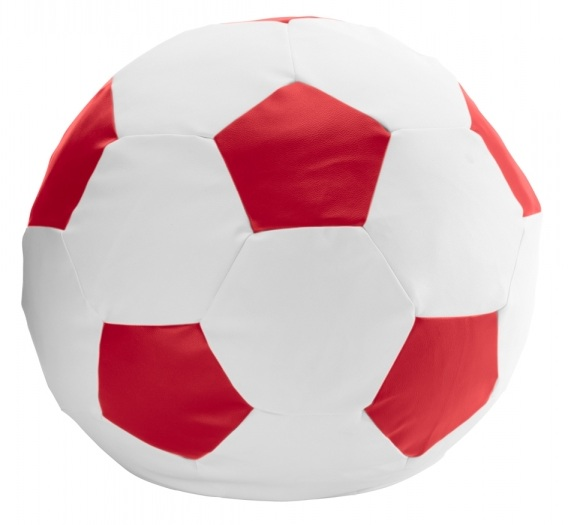 Дополнить интерьер мальчишечьей комнаты помогут мягкие кресла футбольный мяч