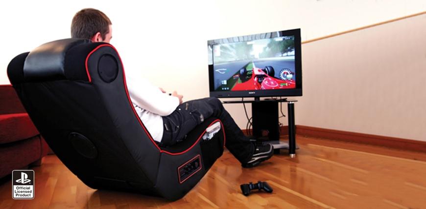 Игровое кресло в интерьере
