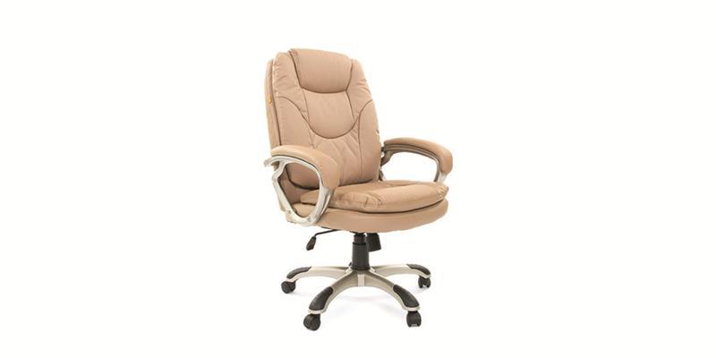 Кожаное кресло для руководителя - офисное кресло
