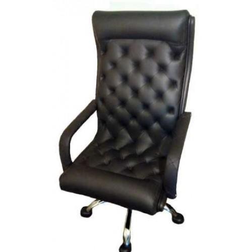 Кожаное кресло руководителя, премиум класса