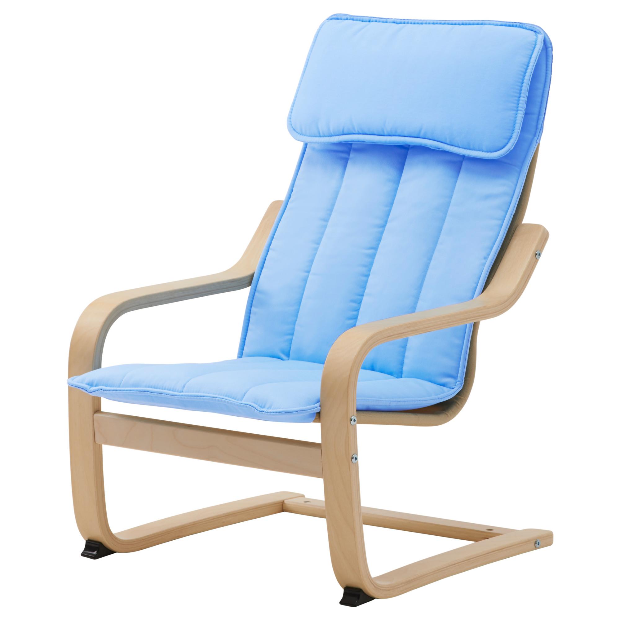 Кресло детское, березовое