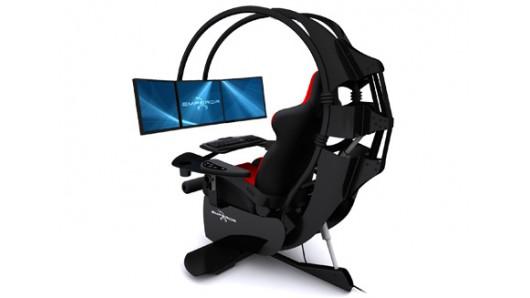 Кресло для геймеров с регулируемыми параметрами сиденья