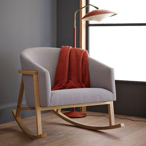 Кресло качалка - романтика в дом