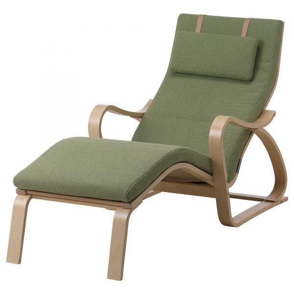 Кресло лежанка из березового шпона