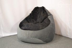 Кресло мешок из мягкого флока