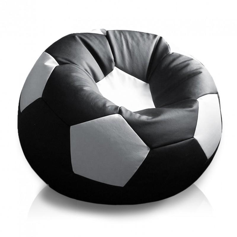 Кресло мяч в черном цвете
