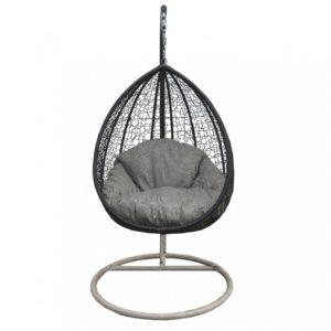 Кресло подвесное из ротанга