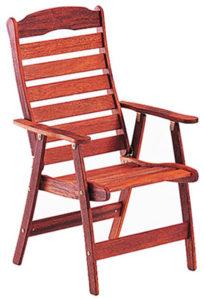 Кресло раскладное из мербау