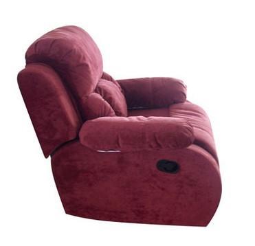 Кресло реклайнер из флока
