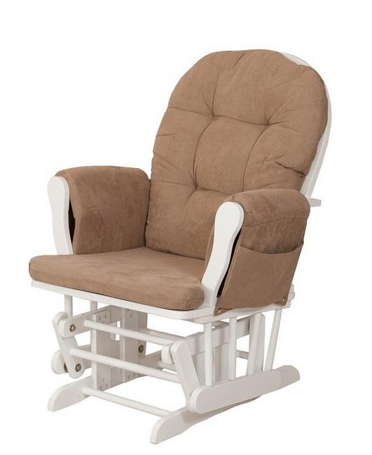 Кресло с белым каркасом