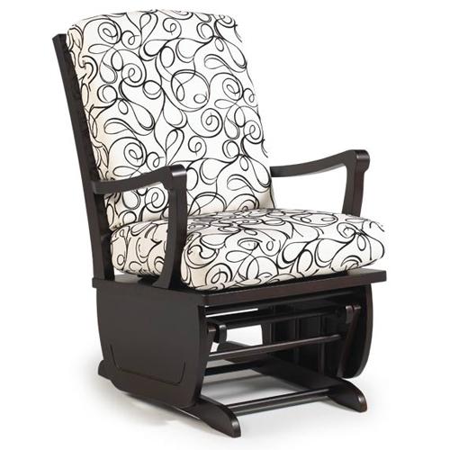 Кресло с красивой обивкой