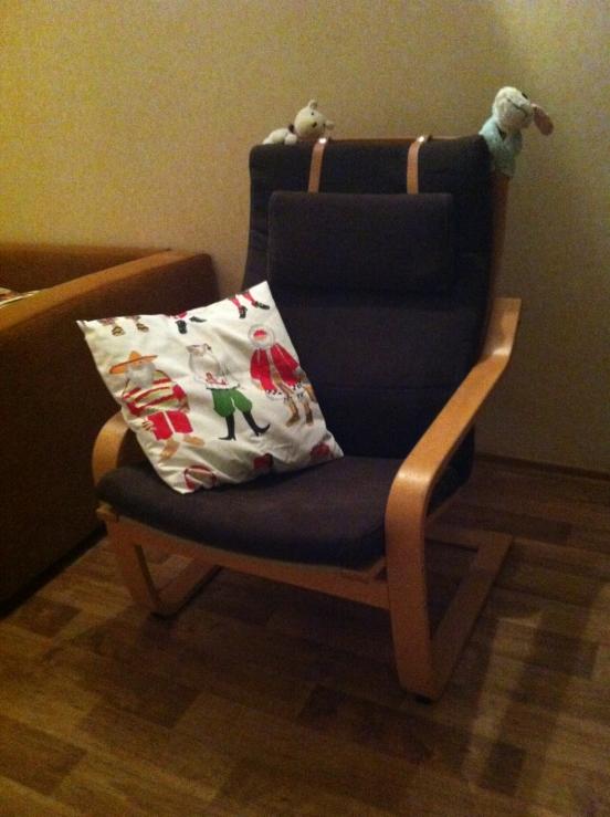 Кресло с мягким чехлом