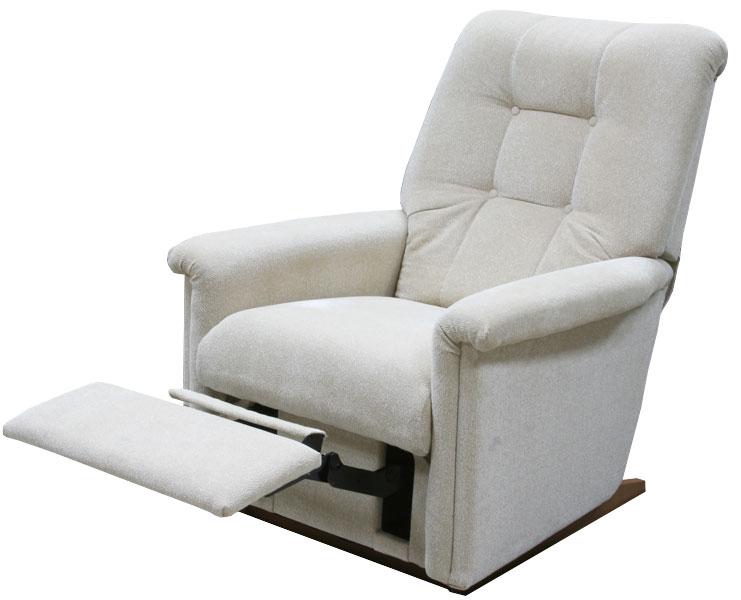 Кресло с подножкой в интерьере