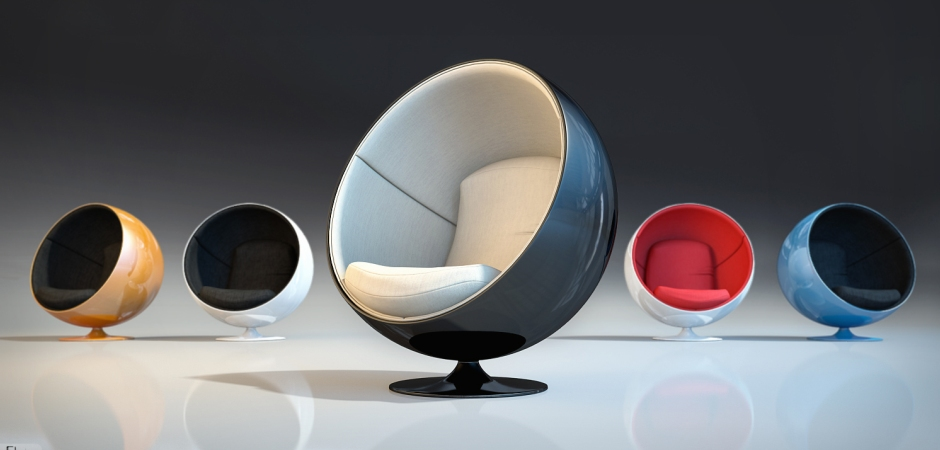 Кресло шар в разных расцветках