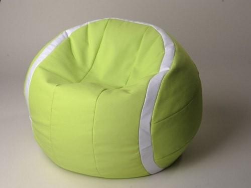 Кресло в виде теннисного мяча