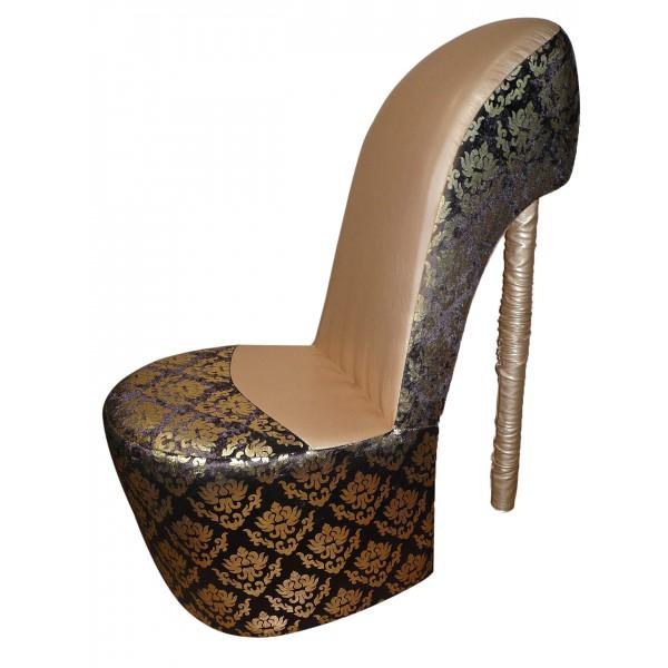 Кресло в виде туфельки