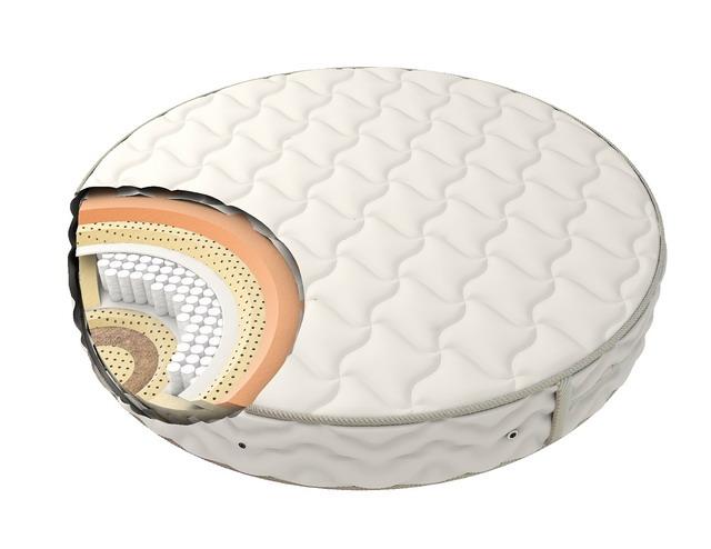Круглая ортопедическая подушка