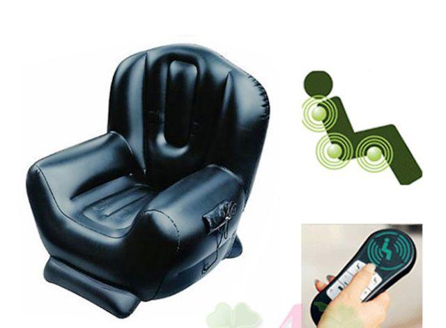Массажное надувное кресло