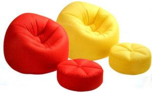 Многообразие пуфов для спальни