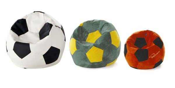 Мягкая мебель в виде мяча