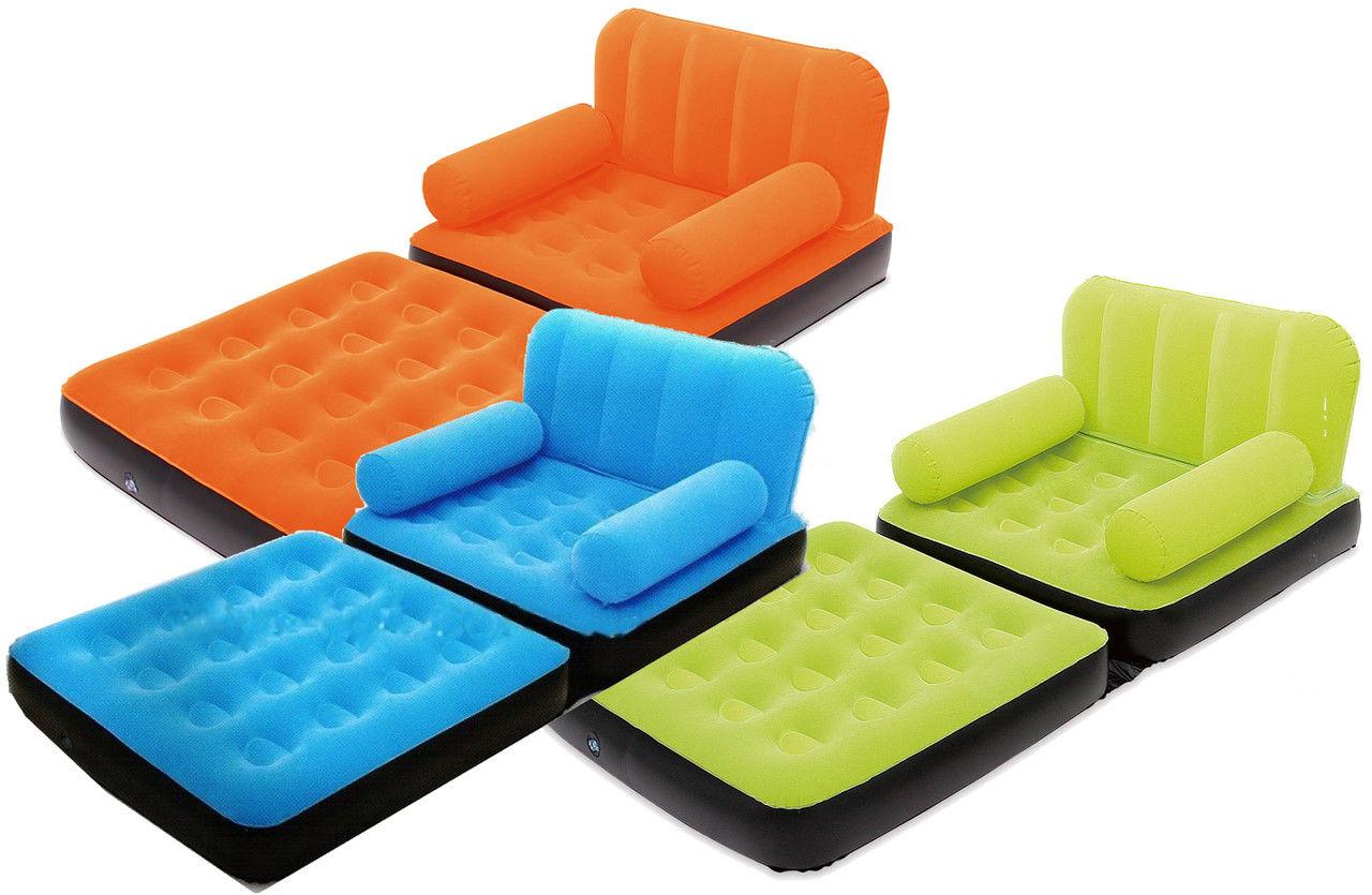 Надувное кресло кровать