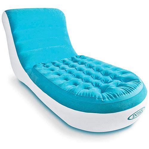 Надувное кресло шезлонг