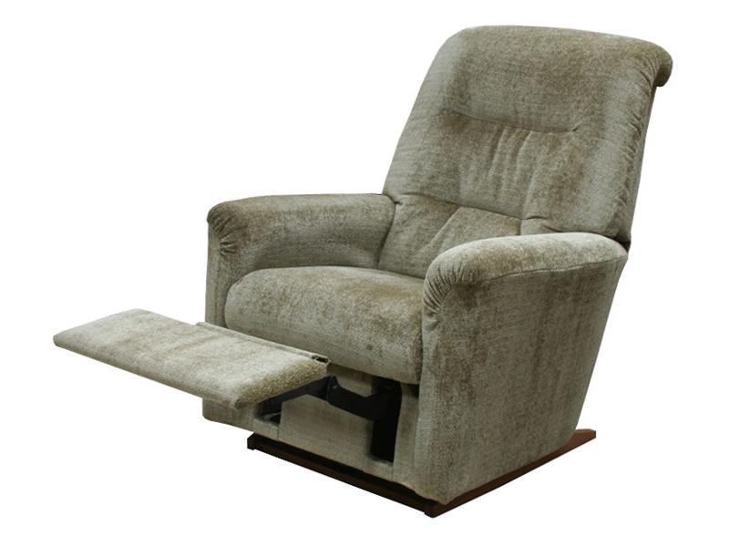 Необычное кресло реклайнер серого цвета
