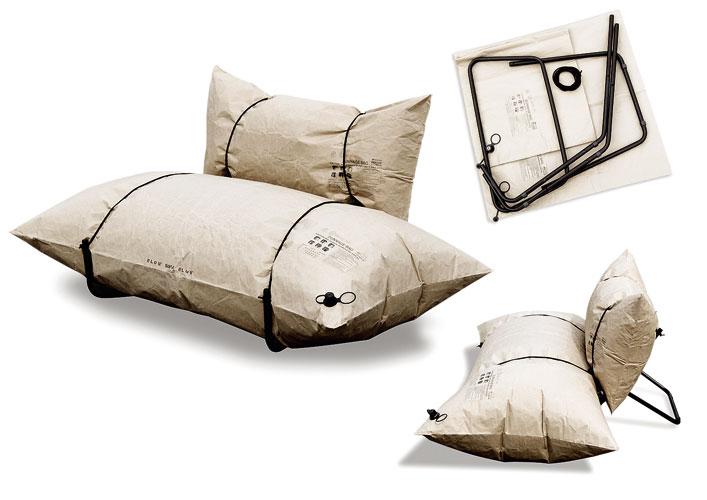 Оригинальная надувная мебель