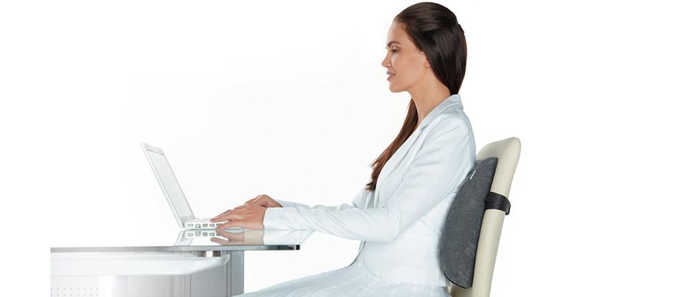 Ортопедическая подушка под спину на кресло или стул