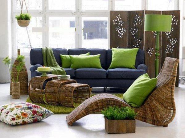 Плетеное кресло кровать