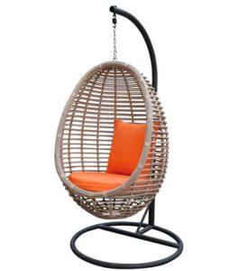 Подвесное кресло на стойке