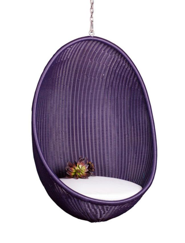 Подвесной вид кресла