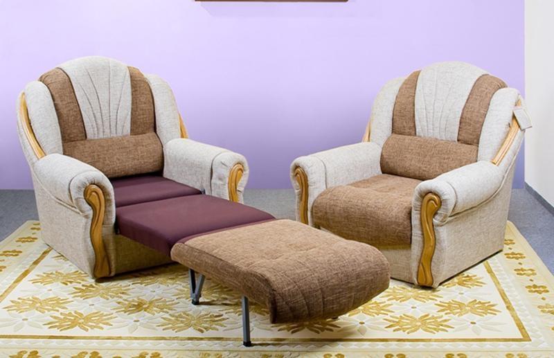 Раскладные кресла - виды, варианты раскладки и декоративные детали