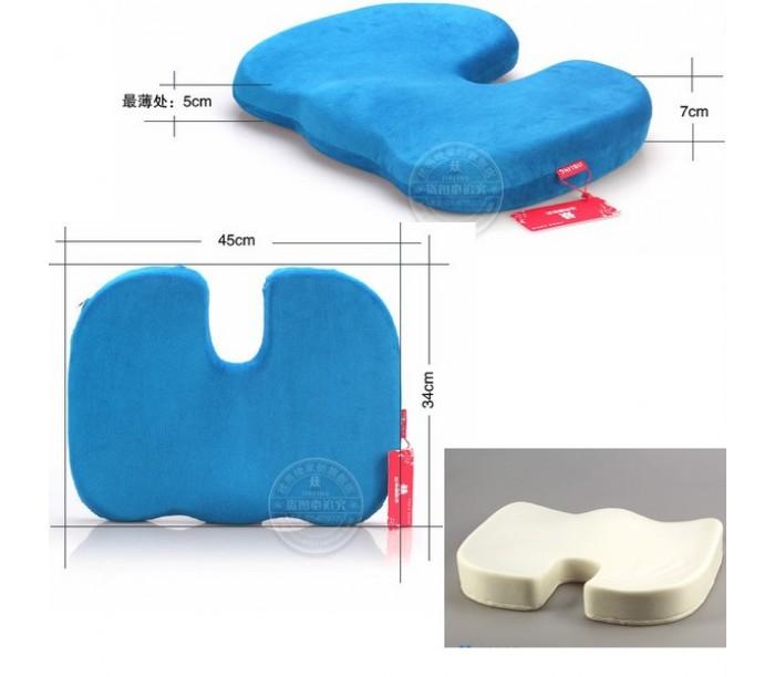 Размеры ортопедической подушки для сидения