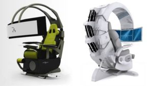 Современное геймерское кресло