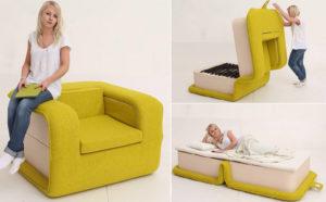 Современное раскладное кресло