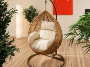 Современные пластиковые сферические подвесные кресла
