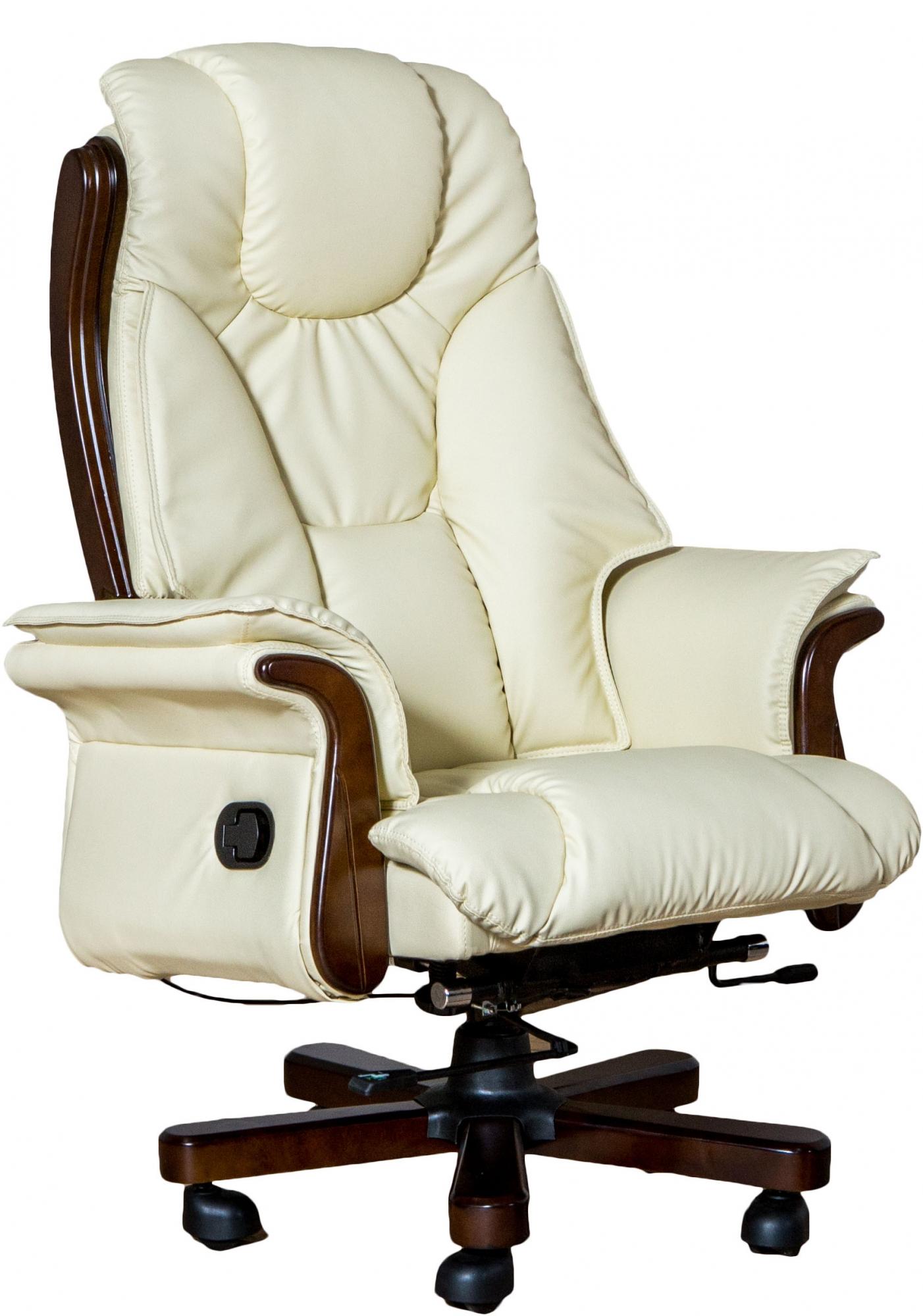 Стильное кожаное кресло