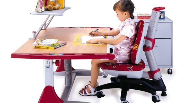 Кресло правильной формы для школьника