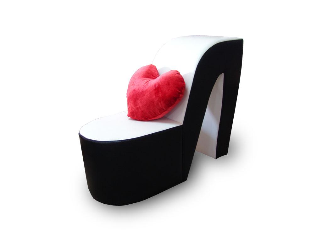 Удобство кресла туфельки