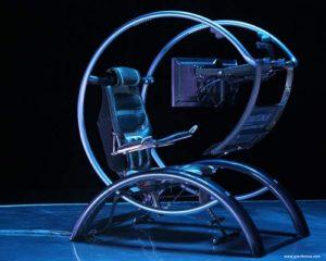 Уникальные и необычные компьютерные кресла