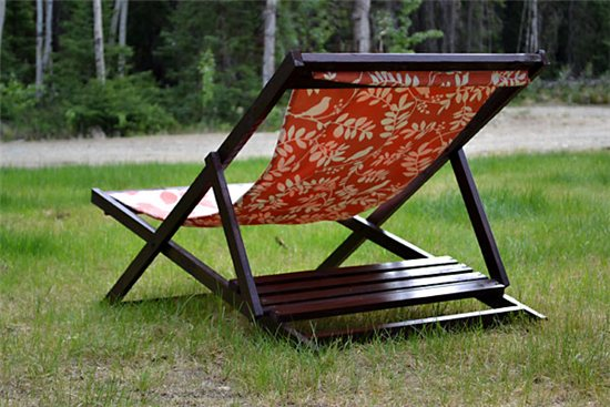 Вариант раскладного кресла