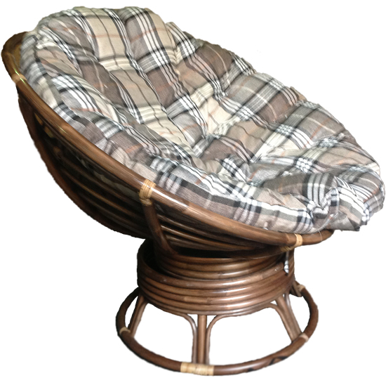 Вращающийся вариант кресла папасан