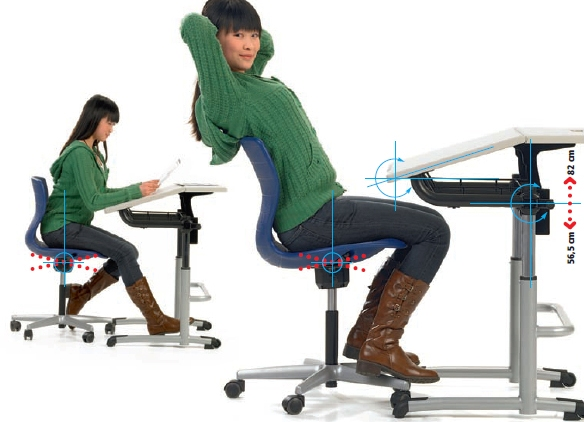 Выбираем ортопедическое кресло для школьника