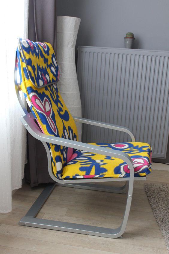 Яркий чехол для кресла