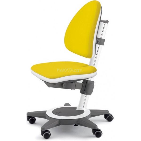 Желтое компьютерное кресло